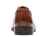Clarks Men's Tilden Cap Dark Tan Leather