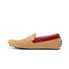 G. Brown Ibiza Sand Suede w/ Red band Driving Moc