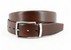 Torino XL Soft Italian Glazed Milled Calfskin Belt Reversible Brown To Navy
