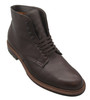 ALDEN PLAIN TOE BOOT Soft Brown Calfskin W/COMMANDO SOLE #4512HC
