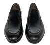 G.Brown Ashton Venetian Slip On Black Calfskin #100