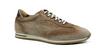 Zelli Costa Italian Burnished Suede Sneaker Brown