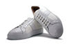 Zelli Luca Italian Calfskin With Crocodile Toe White