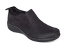 Aetrex Women's Tyra Slip On Black Leather
