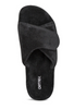 Aetrex Women's Shelby Open Toe Slipper Black