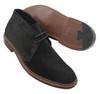 Alden Unlined Chukka Boot Black Suede #1497