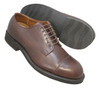 Alden Men's Contoured Depth Inlay Cap Toe Blucher #355 Tar Brown