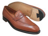 Alden Plaza  Slip-On Burnished Dark Tan Calfskin # 3556