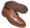 Alden Men's Long Wing Blucher Burnished Tan Calfskin #979
