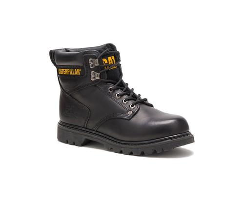 CAT Footwear Men's Second Shift Soft Toe Work Boot Black