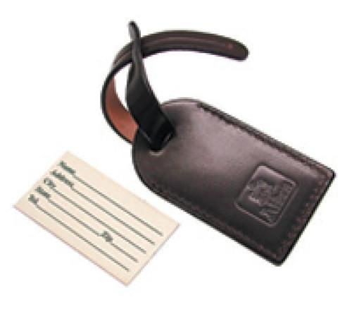 Alden Briefcase Tag Genuine Black  Shell Cordovan