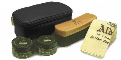 Alden Leather Travel Kit