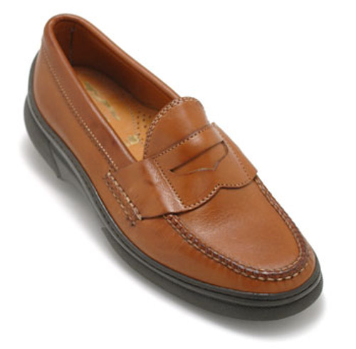 Alden Cape Cod Tan Cup Soled Penny Loafer #H412