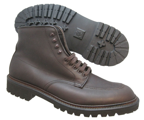Alden Indy Workboot Dark Brown Kudu Leather #404