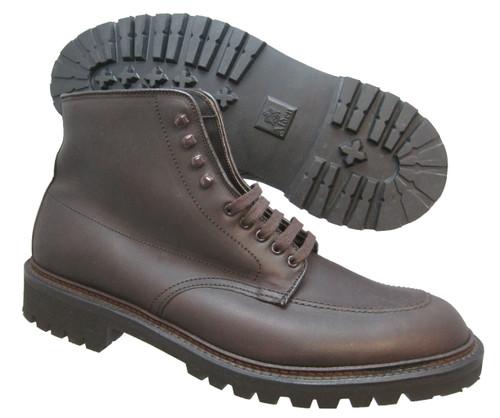 Alden Indy Workboot Dark Brown Kudu Leather #404