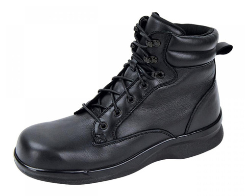 Apex Men's Biomechanical Boot Black Leather
