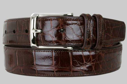 Mezlan Sport Genuine Alligator Belt
