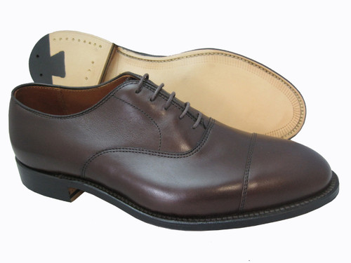 Alden Straight Tip Bal Dark Brown Calfskin #920