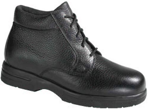 Drew Men's Tucson Leather Walking Chukka Boot Black