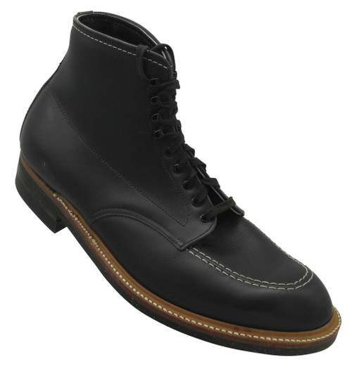 Alden  Indy Workboot Black Leather #401