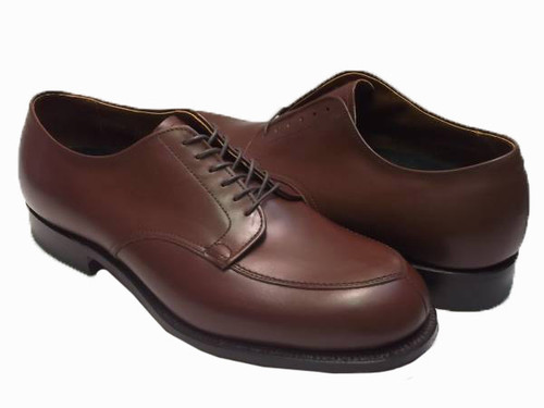 Alden Algonquin Blucher Oxford Brown Calfskin #302