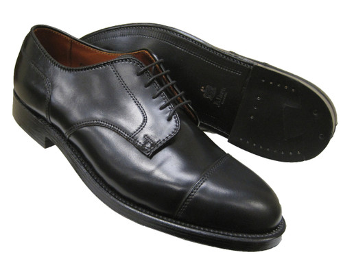 Alden Straight Tip Blucher Black Shell Cordovan #2161