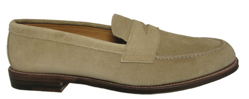 Alden Penny Loafer with Unlined Vamp Tan Suede #6244F ...