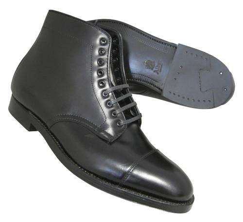 Alden Men's Straight Tip Boot Black Calfskin # 3917