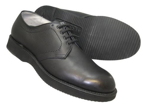 Alden-Foot Balance Plain Toe Blucher black