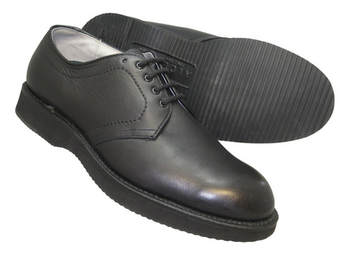 Alden Foot Balance Black Plain Toe Blucher