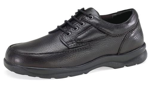 Apex Men's Ariya Moc Toe Black Calfskin