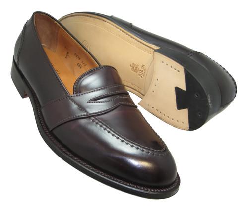 Alden Full Strap Slip-On Loafer Color 8 Shell Cordovan #684