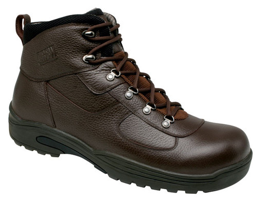 Drew Men's Rockford insulated waterproof Hiking Boot Tumbled Brown
