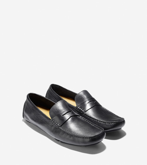 Cole Haan Howland Penny Driver Black