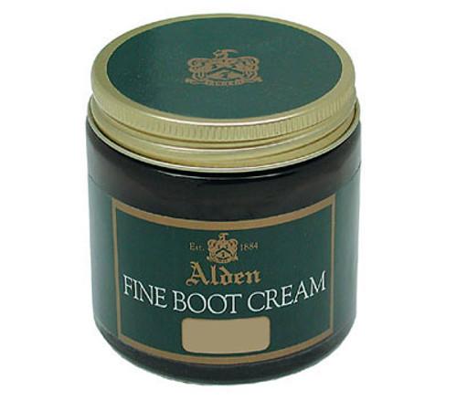 Alden Fine Boot Cream Dark Brown