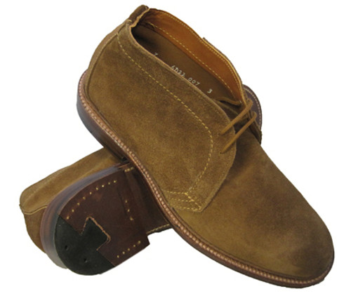 Alden Unlined Chukka Boot Snuff Suede #1493