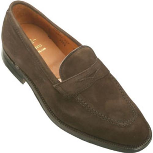 Alden Plaza Slip-On Mocha Brown Suede #3554