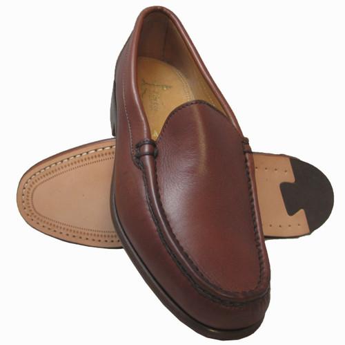 Alden Burnished Tan Venetian Slip On Loafer #H455