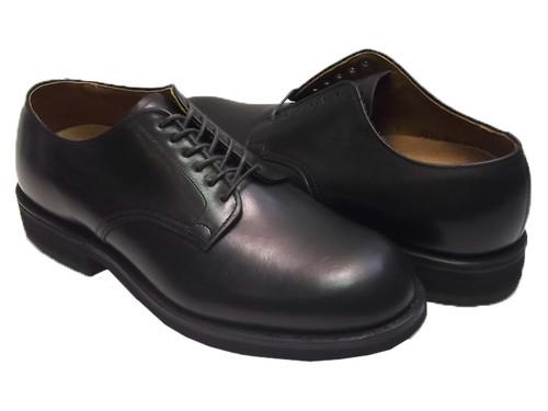 Alden Men's Contoured Depth Inlay Plain Toe Blucher #343 Black
