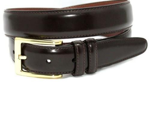 Torino XL Antigua Leather Belt Dark Brown
