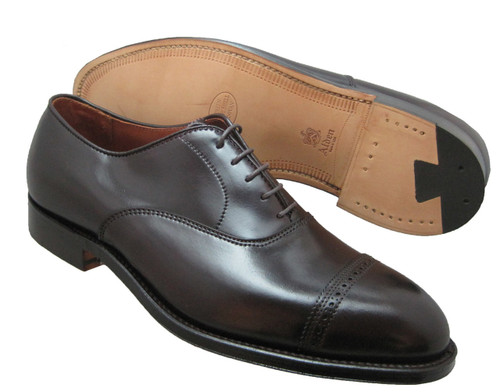 ALDEN Color 8 Shell cordovan PERFORATED CAP TOE BAL OXFORD #9015