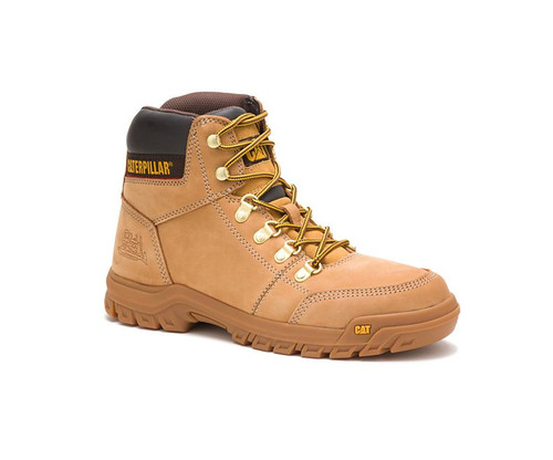 CAT Footwear Men's Outline Soft Toe Work Boot Honey