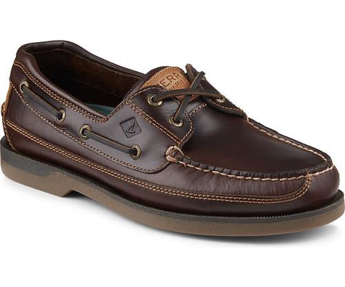 Sperry Men's Mako Canoe Moc Boat Shoe Amaretto
