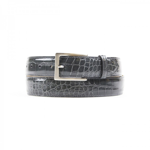 Zelli Alligator Belt Grey