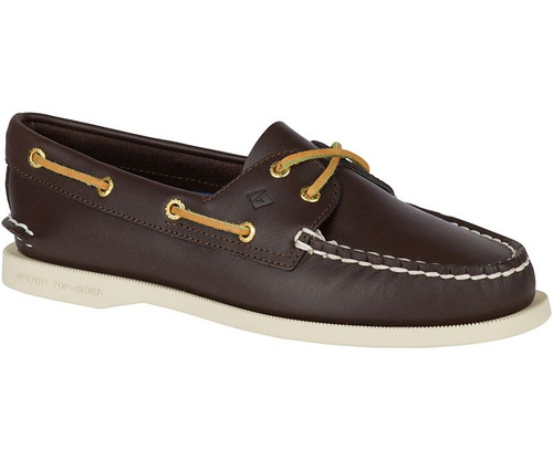 Sperry Women's Authentic Original Boat Shoe Classic Brown Leather
