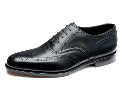 Loake Buckingham Black Calfskin