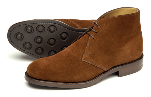 Loake Kempton Brown Suede