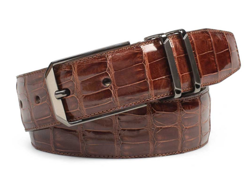 Mezlan Sport Genuine Crocodile Belt