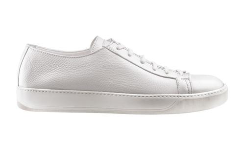 Santoni Cleanic White Sneaker