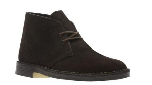 Clarks Men's Desert Boot Brown Suede